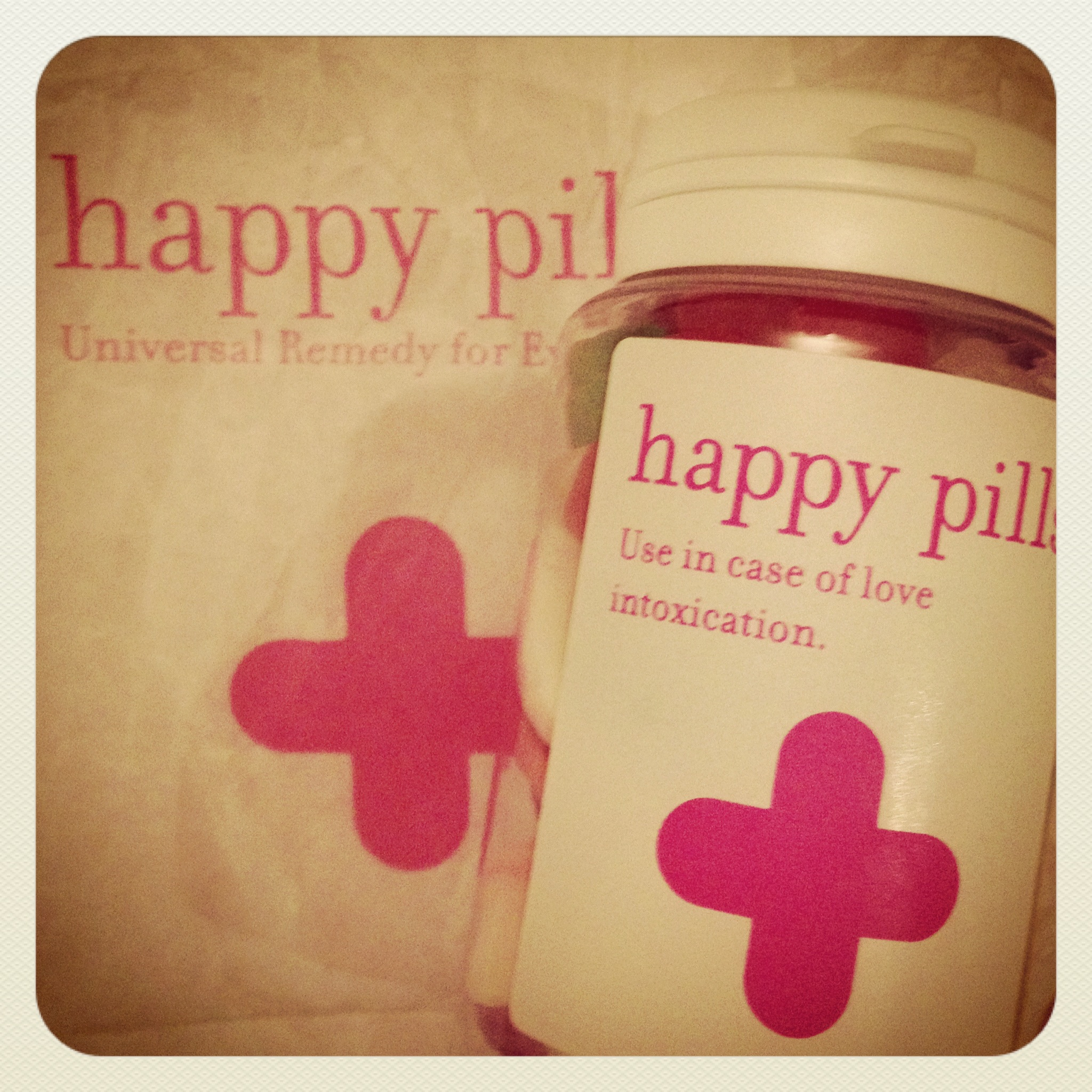 Happy pills - in case of love intoxication