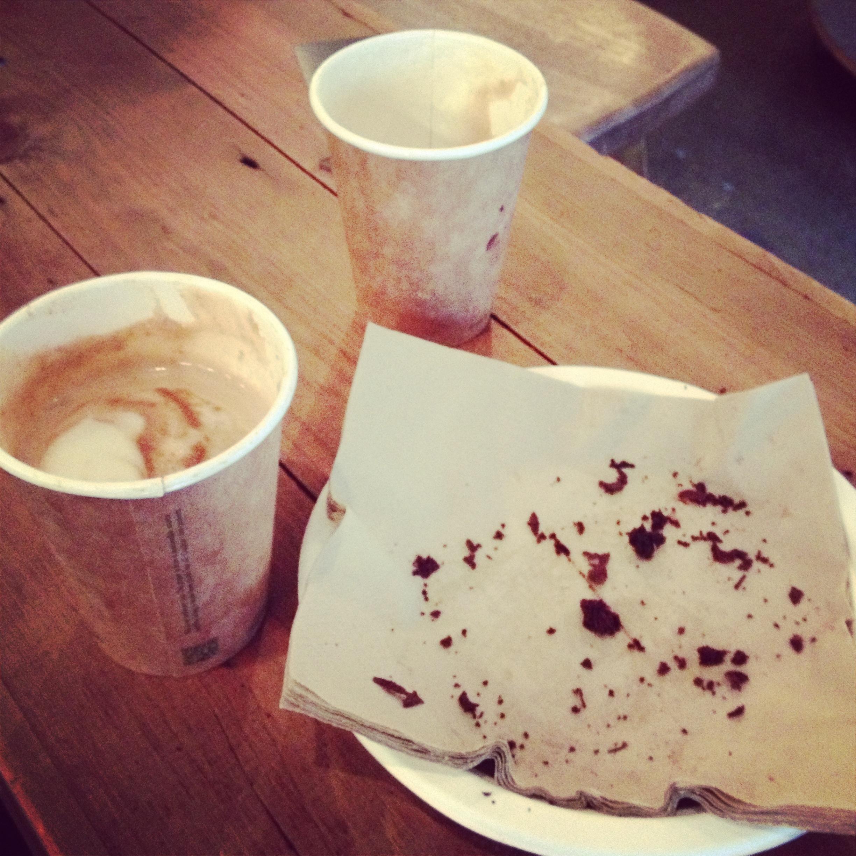 Chocolate cake sweats - monmouth coffee co